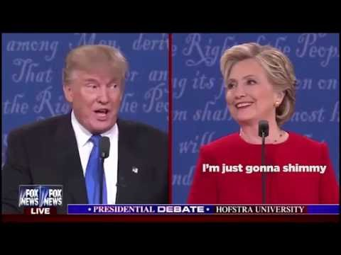 Funny Song Debate Hillary Shimmy