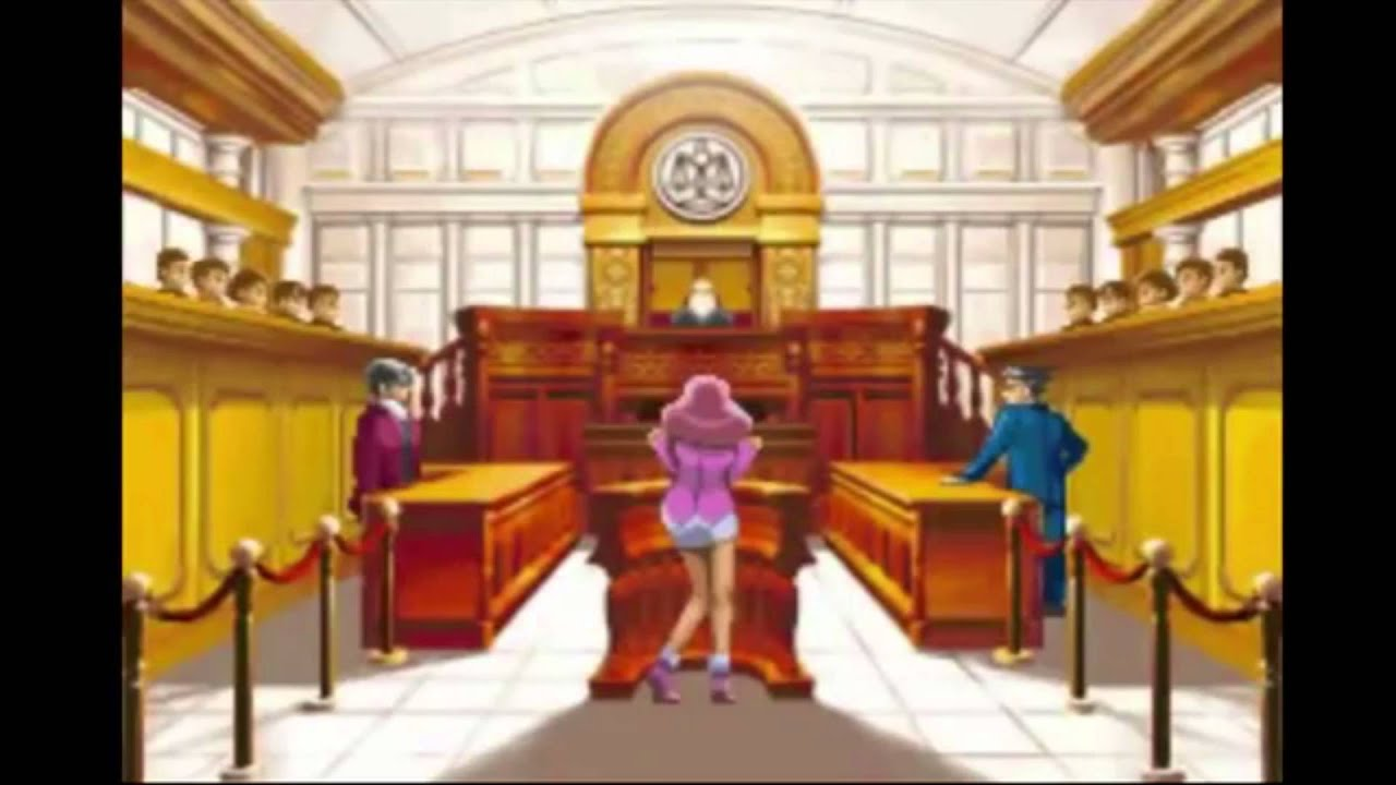 What if Phoenix Wright used the dating music from