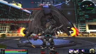 Exteel - LS3 C.C boss teach vid + tank mech gameplay