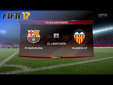 FIFA 17 - FC Barcelona vs. Valencia CF @ El Libertador (Generic Camp Nou)