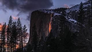 Yosemite Horsetail Firefalls 2019