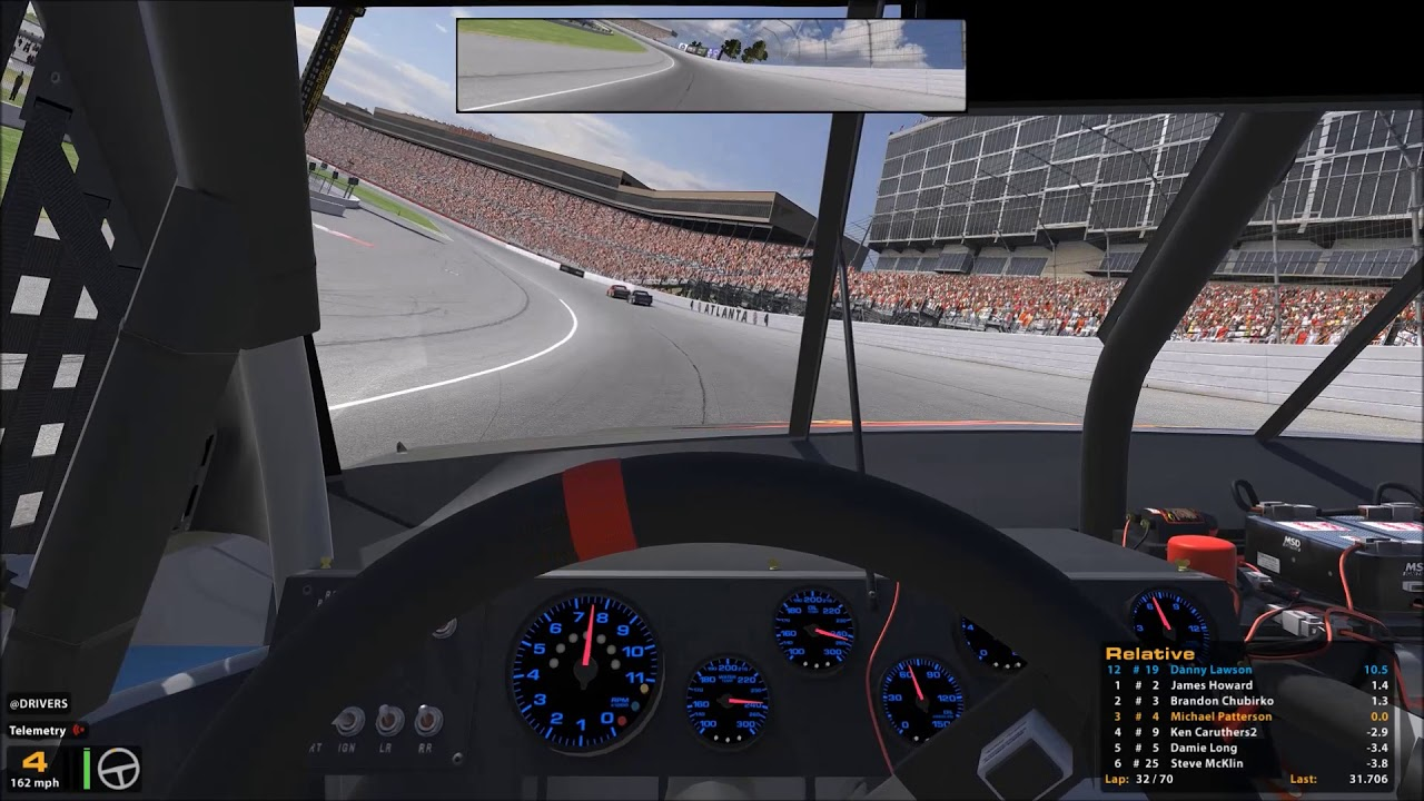 Iracing Class C Trucks Open Setups Season 1 2018 Atlanta Week 2 Race 1