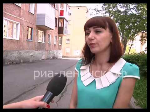 Молодежь Ленинска-Кузнецкого работает на благоустройстве города