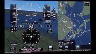Low ILS Approach to KGLS