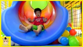 Indoor Playground Fun Rainbow Color Slide for Kids and Family Car Cafe | MariAndKids Toys