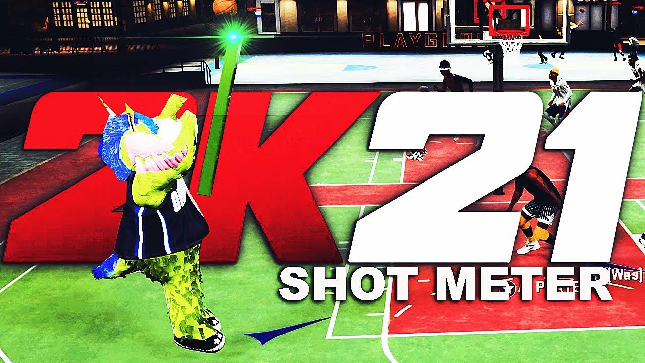 NBA 2K21 NEW SHOT METER But In NBA 2K20...