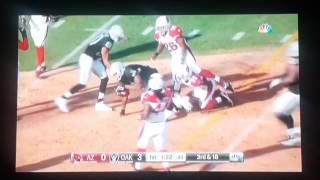 Raiders Highlights VS Cardinals Pre Season #3 (Part 1)
