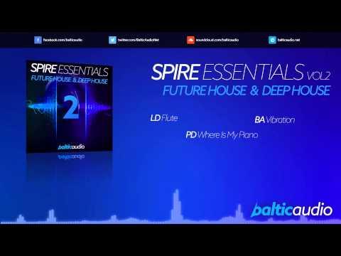 Spire Essentials Vol 2: Future House & Deep House (64 Spire presets, 40+ MIDI files)