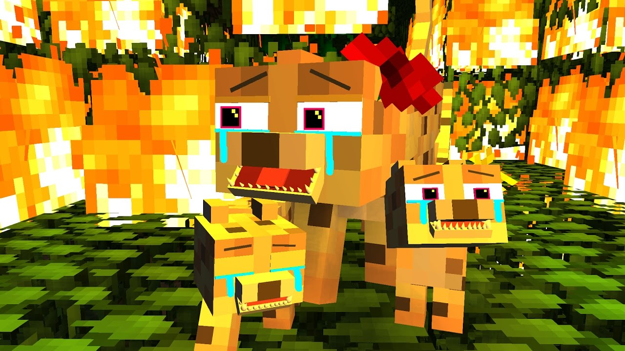 Zombie 3d Live Wallpaper Ocelot Life 2 Craftronix Minecraft Animation Youtube