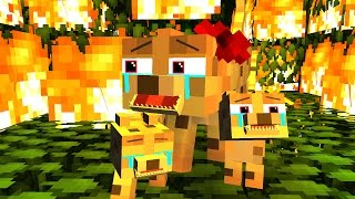 Repeat youtube video Ocelot Life 2 - Craftronix Minecraft Animation