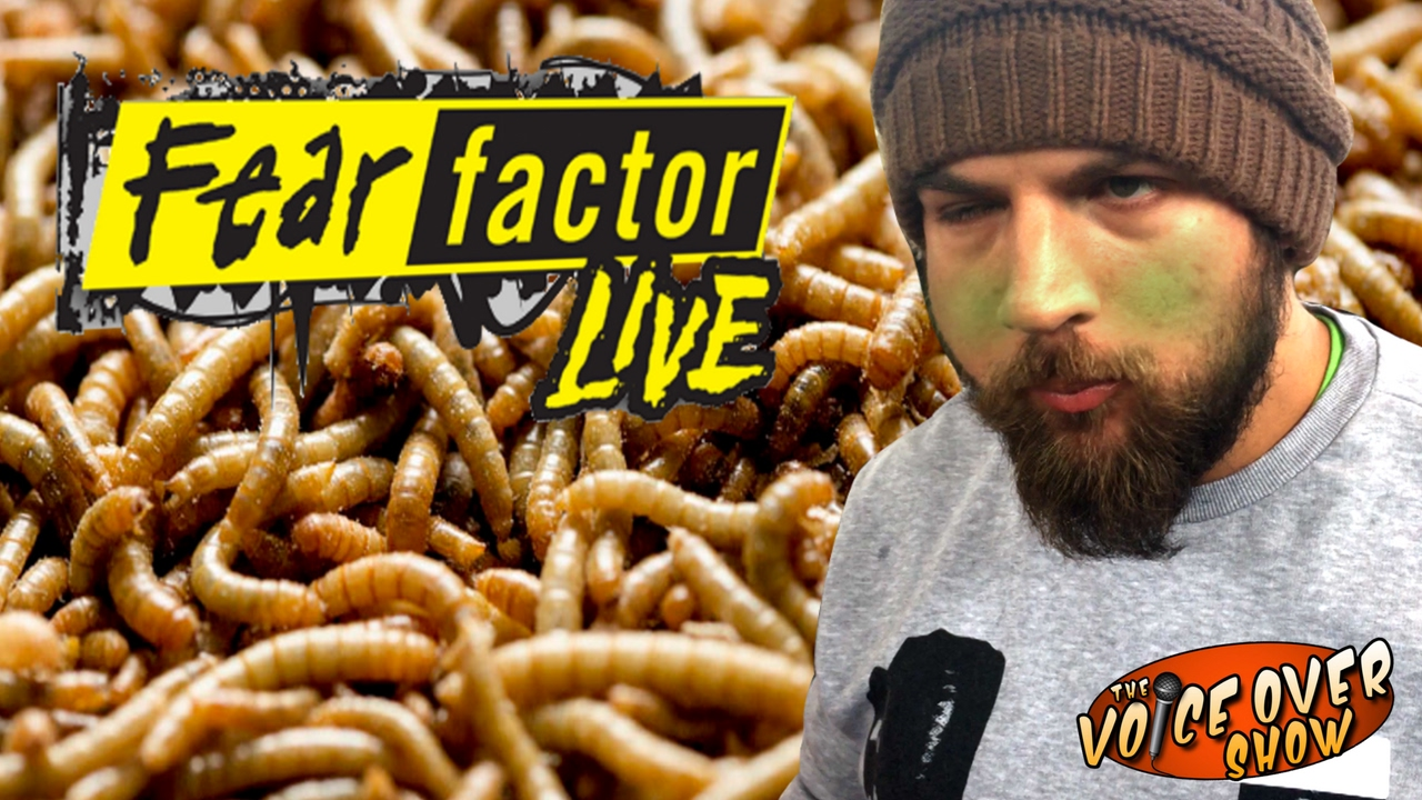*Stinky worms crawling around your hand*  Fear Factor Worms