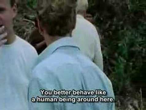 Klaus Kinski  Fitzcarraldo fight with English subtitles!