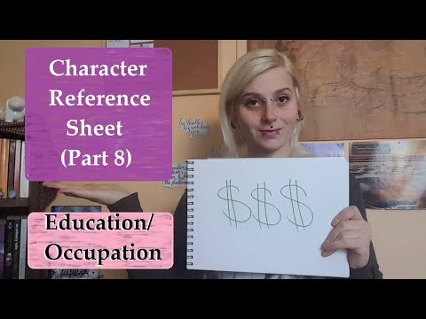 ♤ Creating Characters | Part 8: Education and Occupation | Dahlia Burroughs ♤
