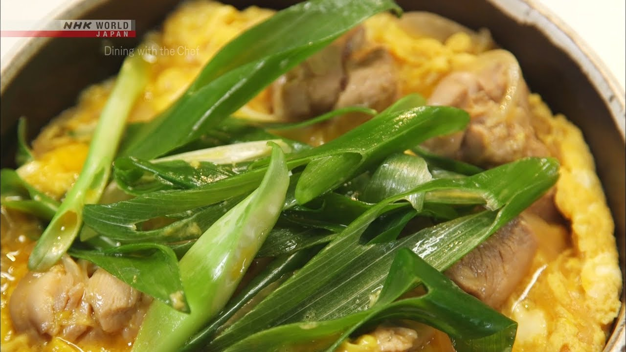 Photo of Chef Saito's Oyako-don: Chicken and Egg Rice Bowl [Japanese Cooking] – Dining with the Chef – video