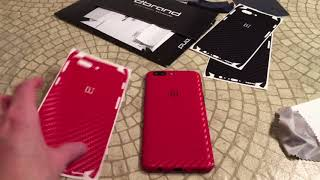 dbrand Carbon Skin For OnePlus 5 Unboxing and Review