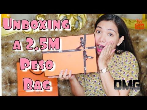 UNBOXING A 2.5 MILLION PESO HERMES BAG
