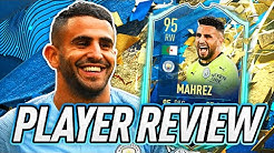 THE ALGERIAN MAGICIAN! 😄 95 TOTSSF MAHREZ PLAYER REVIEW! - FIFA 20 Ultimate Team