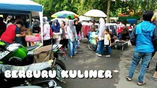 BERBURU KULINER DI CAR FREE DAY KOTA KUNINGAN JAWABARAT