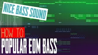 How to Make This Popular EDM Bass