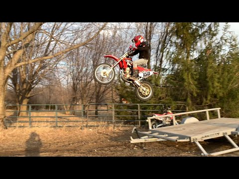 DIY Dirt Bike Jump