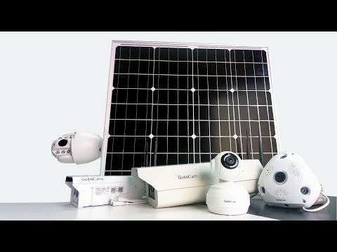 GatoCam 4G WIFI Solar Camera 4G PTZ Camera 4G Battery Camera 4G VR panoramic Camera