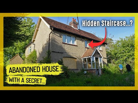 Strange Hidden Staircase In This Abandoned House...