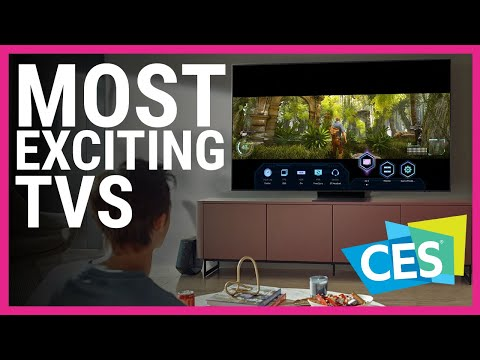 Most Exciting TVs at CES 2021