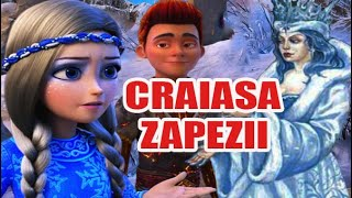 CRAIASA ZAPEZII de Hans Christian Andersen - POVESTI PENTRU COPII - BASME in LIMBA ROMANA