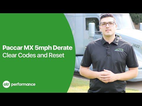 DTC + AFT Reset Tool | Paccar MX