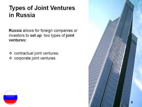 Create a Joint Venture in Russia