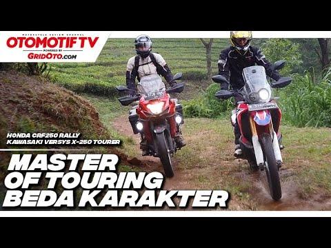 Honda CRF250 Rally VS Kawasaki Versys-X 250 Tourer | Komparasi Review | Otomotif TV