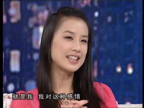 黄圣依 Huỳnh thánh y Huang Sheng yi 综艺 愛的紋身非常静距离007 高清