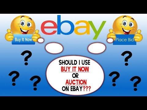 Ebay Bids Vs Buy It Now - Which is Better?