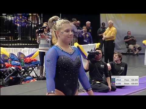 Sydney Johnson-Sharpf Floor Florida @ LSU 2019 9.800