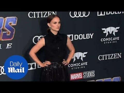 Natalie Portman Dazzles At Avengers: Endgame Premiere In LA