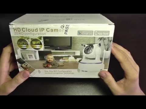 1080p Full HD IP Camera P2P - unboxing, set up, install and configure (Android and PC)