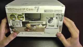 1080p full hd ip camera p2p unboxing set up install and configure android and pc