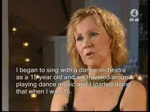 Agnetha FäItskog - Interview from December 2004,  PART 1/4