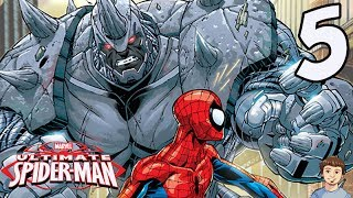 Ultimate Spider-Man Playthrough - PART 5 - Spider-Man Vs Rhino