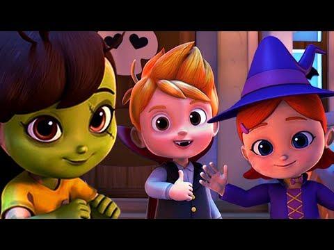 It's Halloween Night   Nursery Rhymes And Kids Songs   Spooky Halloween Cartoons by Kids Tv
