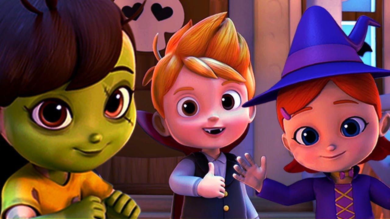 It's Halloween Night | Nursery Rhymes And Kids Songs ...