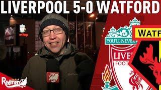 Salah Scores 4! | Liverpool v Watford 5-0 | Chris' Match Reaction