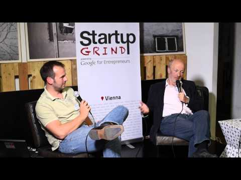 Hansi Hansmann (Hansmen Group & AAIA) at Startup Grind Vienna