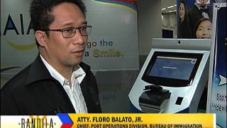 Immigration e-counters installed in NAIA