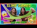 FUNNY SLIME GAMES | WHO CHEATS? | We Are The Davises
