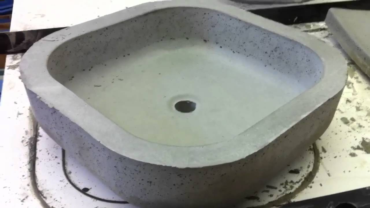 Unfinished Concrete Vessel Sinks Youtube