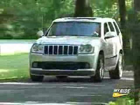 review 2006 jeep grand cherokee srt 8 youtube. Black Bedroom Furniture Sets. Home Design Ideas