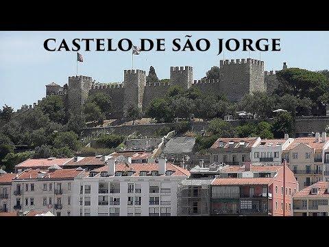 LISBOA: São Jorge Castle - viewpoint (Portugal) HD