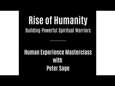 Human Experience Masterclass - Peter Sage - September 2017
