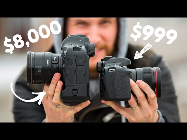 $1,100 Camera vs $6,000 Camera: Understanding the Differences